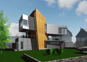 Укрдизайнгруп udg архітектурне проектування  Будинок біля Дніпра