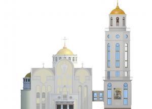 Дзвіниця Св.Юрія-Переможця Укрдизайнгруп udg архітектурне проектування