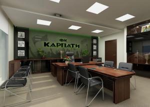 Укрдизайнгруп udg архітектурне проектування львів Тренувальна база ФК Карпати