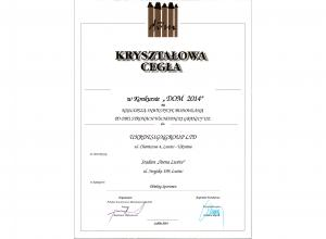 "Award for the implemented project stadium ""Arena Lviv"""